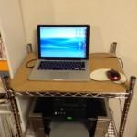 6500円追加でスタンディングデスク(立ち机)を自作してみた。
