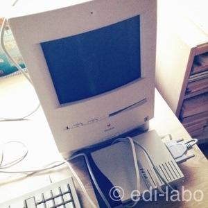 ▲HDDが80MB、カラークラシック