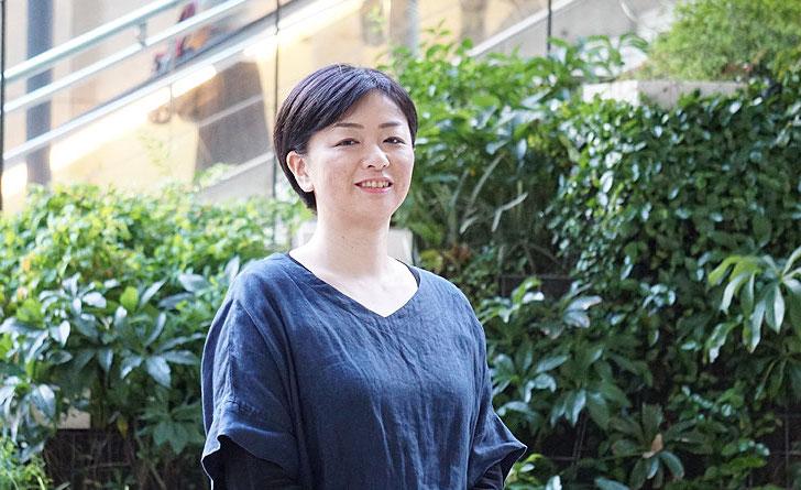 インタビューライター丘村奈央子の写真